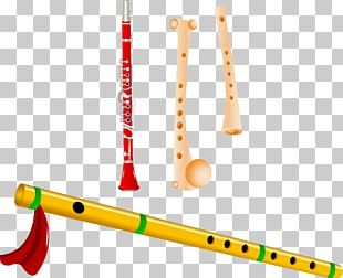 Flute Musical Instrument Bansuri Icon PNG