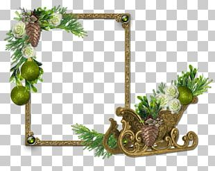 Frames Christmas New Year Photography PNG