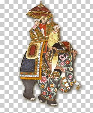 Rajasthan Mughal Empire Miniature Elephant Mughal Painting PNG