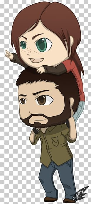 The Last Of Us Chibi Video Game Ellie Naughty Dog PNG