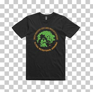 Ringer T-shirt King Gizzard & The Lizard Wizard Flying Microtonal Banana PNG