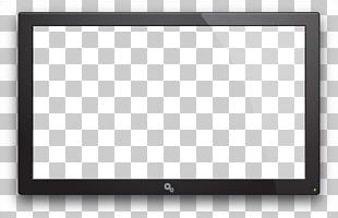 Square Area Black And White Pattern PNG