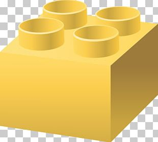 Yellow Lego Duplo Toy Block Computer Icons PNG