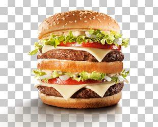 Big N' Tasty Hamburger McDonald's Big Mac Bacon McFlurry PNG