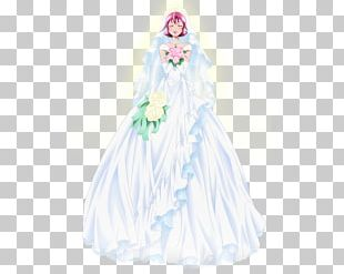 Dress Gown Costume Design Figurine Doll PNG