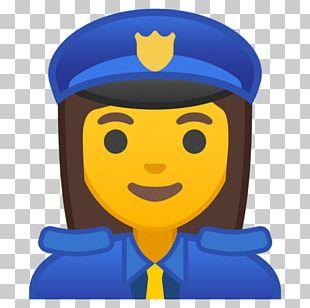 Emojipedia Police Officer Smiley PNG