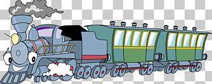 Train Rail Transport Steam Locomotive PNG