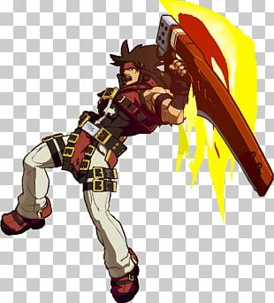 Guilty Gear Xrd Sol Badguy Video Game Portal PNG