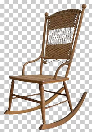 Table Rocking Chairs Wicker Swivel Chair PNG