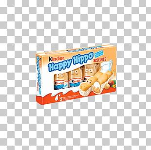 Kinder Happy Hippo Kinder Chocolate Cream Hazelnut Wafer PNG