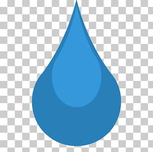 Liquid Electric Blue Water PNG