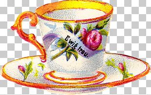 Coffee Cup Teacup Saucer PNG