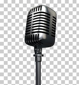 Wireless Microphone Radio Podcast PNG