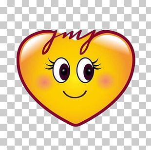 Emoji Heart Smiley Sticker PNG