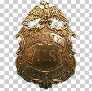 Police United States Marshals Service Sheriff American Frontier Badge PNG