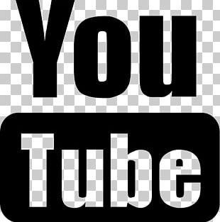 YouTube Logo Computer Icons Video Black And White PNG