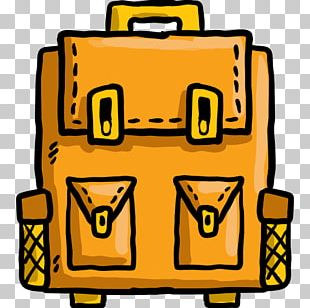 Backpack Baggage Travel Satchel Icon PNG