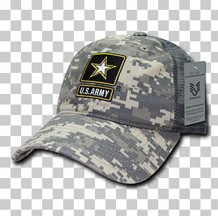 Baseball Cap United States Army Combat Uniform Military PNG