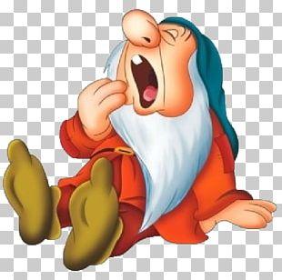 Seven Dwarfs Bashful Sneezy Dopey PNG