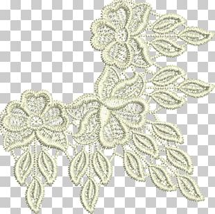 Lace Textile Embroidery Pattern PNG
