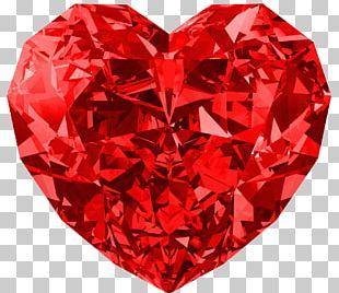 Diamond Gemstone Jewelry Design PNG