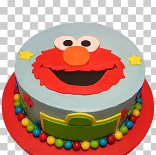 Birthday Cake Cupcake Bakery Elmo PNG
