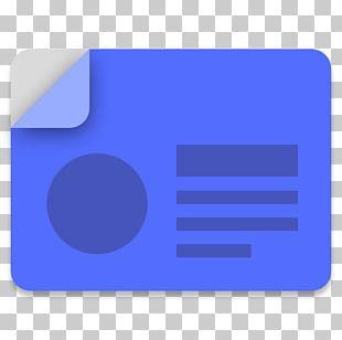 Blue Square Angle Symbol PNG