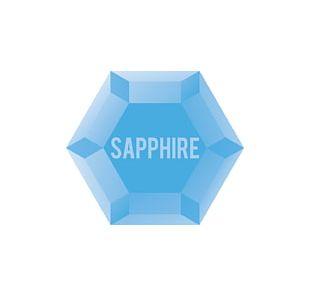 Logo Sapphire Blue Brand PNG