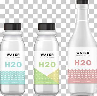 Mockup Water Bottle PNG