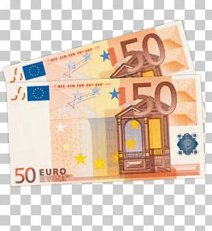 Euro Banknotes 50 Euro Note European Central Bank PNG