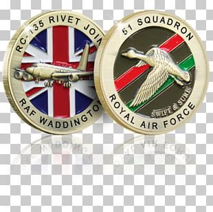 Challenge Coin Badge Military Royal Air Force PNG