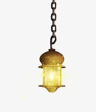Decorative Street Lamp PNG