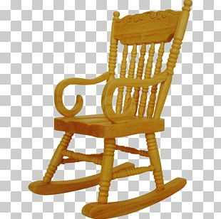 Furniture Rocking Chairs Table Dollhouse PNG