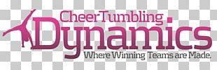 Logo Cheer Tumbling Dynamics Inc Cheerleading Gymnastics PNG