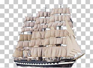 Sailing Ship Kruzenshtern Tall Ship PNG