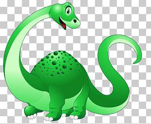 Dinosaur Triceratops Cartoon PNG