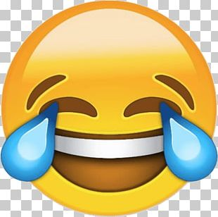 Face With Tears Of Joy Emoji Crying Laughter T-shirt PNG