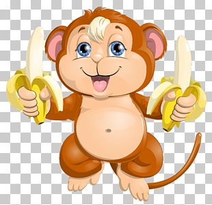 Monkey Cuteness PNG