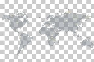 World Map Globe Poster Wall Decal PNG