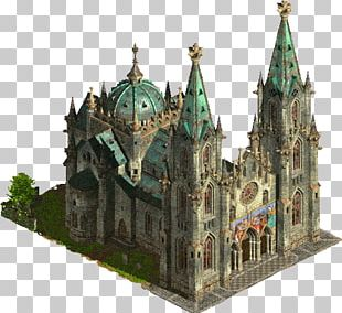 Anno 1503 Chapel Middle Ages Medieval Architecture Castle PNG