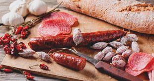 Salami Ham Sausage Meat Stock Photography PNG