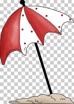 Umbrella Beach Drawing PNG