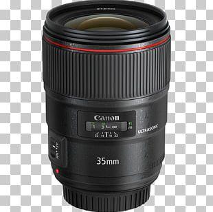 Canon EF Lens Mount Canon EF 35mm Lens Camera Lens Ultrasonic Motor PNG