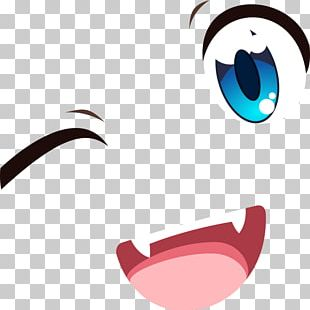 Eye Smile Anime Mouth PNG