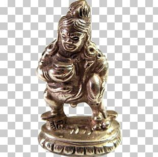 Antique Chinese Silver Bronze Sculpture Collectable PNG
