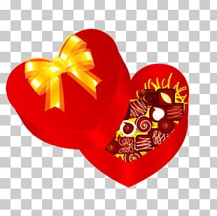 Paper Valentines Day Gift Heart PNG