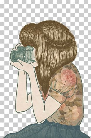 Drawing Female Photography Girl Illustration PNG