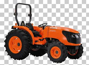 Kubota Corporation Tractor Agriculture Sales Heavy Machinery PNG