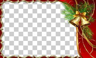 Santa Claus Christmas Card Frames Greeting & Note Cards PNG