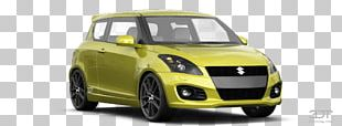 Suzuki Swift Compact Car City Car Mid-size Car PNG